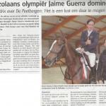 Venezolaans olympiër Jaime Guerra domineert 2015-11-11